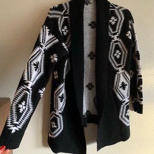 Sweaters - Tribal print cardigan